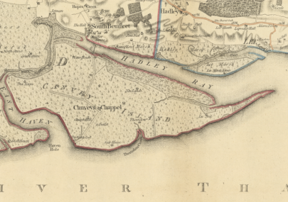Chapman and Andre 1777 map