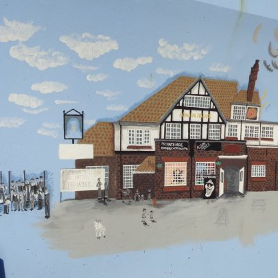 Admiral Jellicoe pub now demolished. | J.Walden