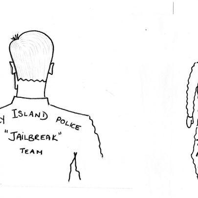 Sketch of idea for boilersuit