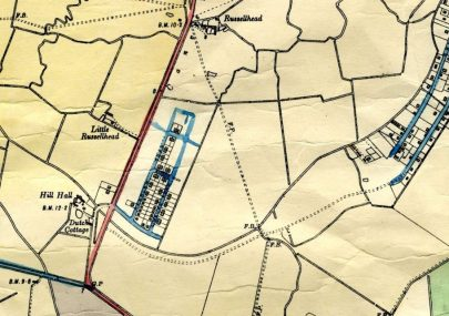 Map showing location of the Dutch Village Estate