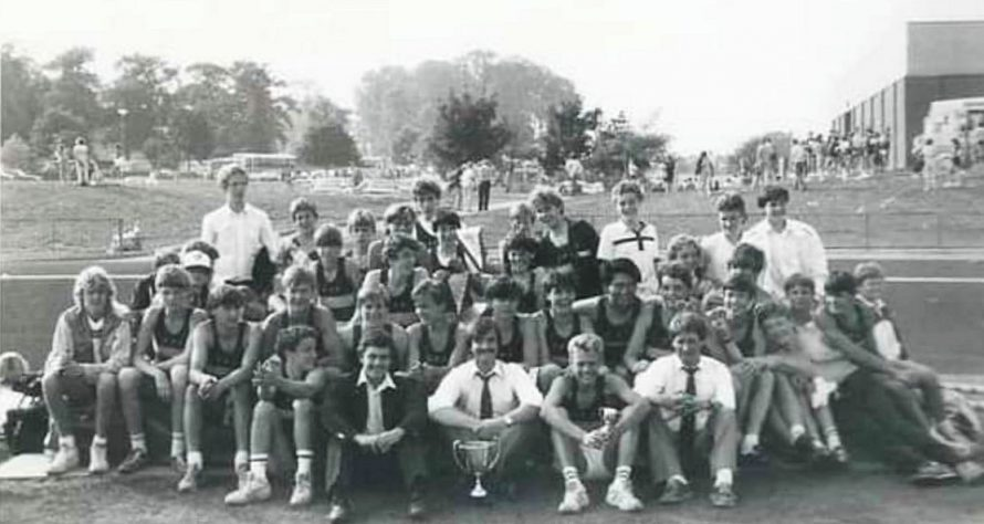 Furtherwick Park Atheletics 1980s