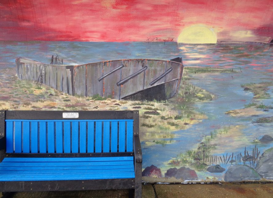 The concrete barge. | J.Walden