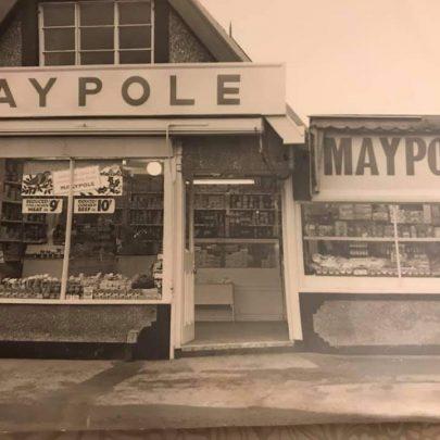 Liz: When Maypole supermarket took over the old shop