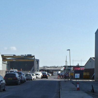 Charfleets Industrial Site 2021