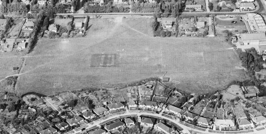 The Paddocks in 1952.