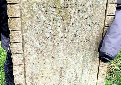Louisa Le May - she died on her birthday