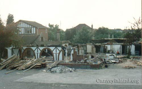 Demolition of Dr Feelgood Music Bar