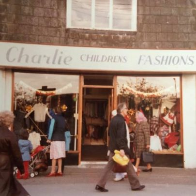 The shop in the High Street. Formally Tower pram shop.