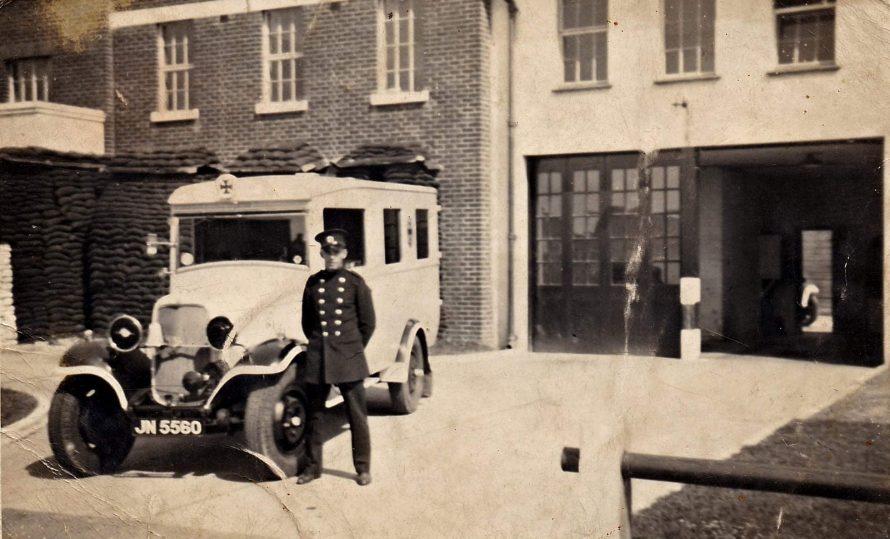Dick Knight Volunteer Ambulance Driver | Ian Welby