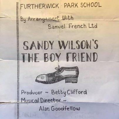 Sandy Wilson's 'The Boyfriend'
