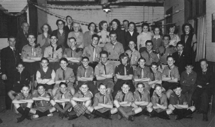 Scouts from the 1950s