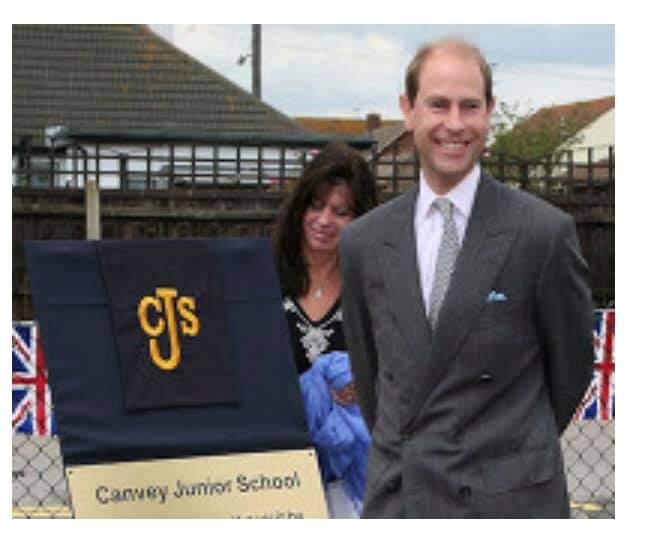 Prince Edward visits Canvey Junior School   Debbie Spink-Smith