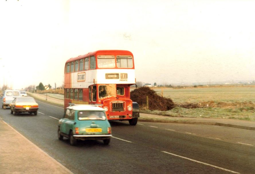 c1987 Matchbox Staff Bus