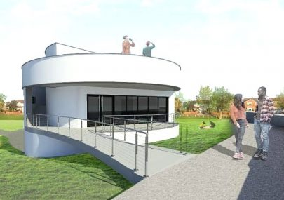 Proposed new Pavilion - Thorney Bay