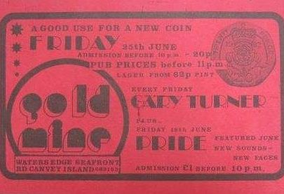 Goldmine flyers and tickets
