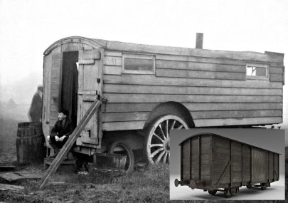 An old train carriage