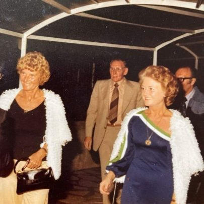 Pat and Charlie with Fred and Joan Rumens