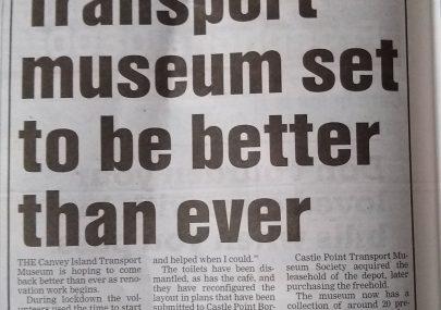 Transport Museum News