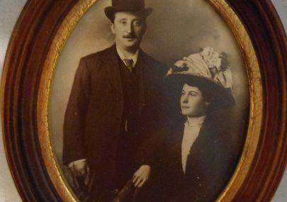John Taylor Walker and Lillian wedding day 1907
