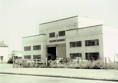 Eastern National Bus Garage c1975