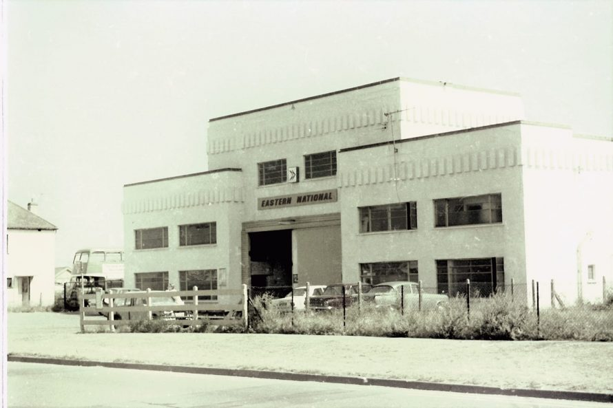 Eastern National Bus Garage (now Castle Point Transport Museum.) | Photo Credit: Peter Carr (shared with permission)