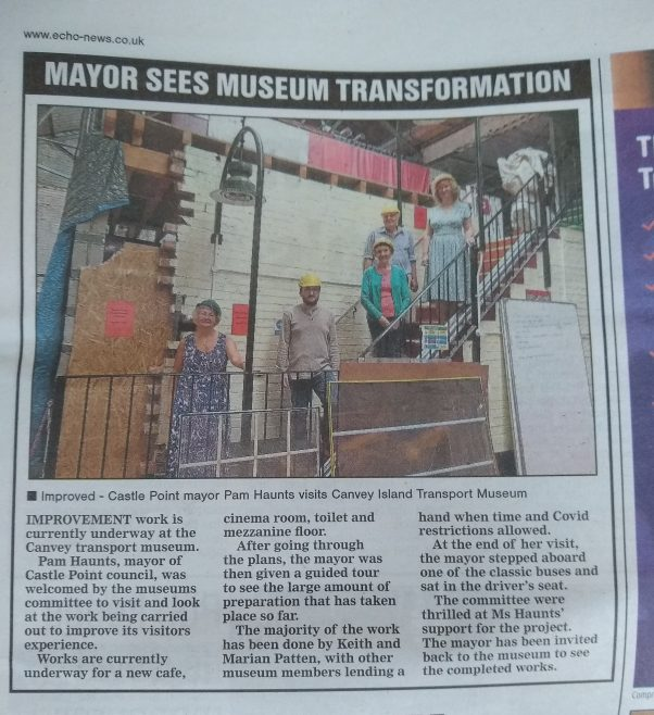Mayor's visit in the Echo