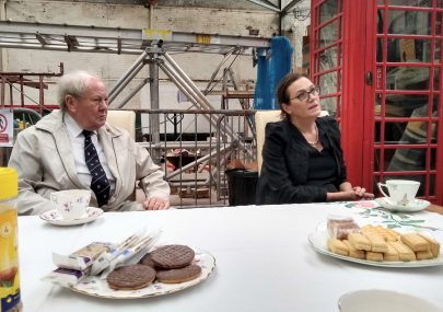 Rebecca Harris MP and Ray Howard MBE visit the museum