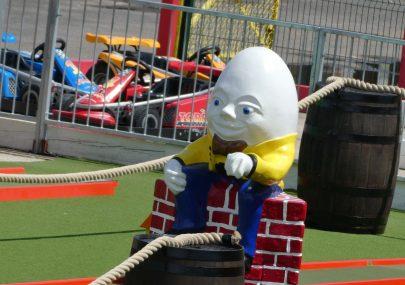 Someone has put Humpty Dumpty together again