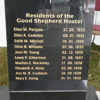 The Blessing of the headstones