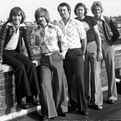 Marzipan on the roof at Raquels in 1975