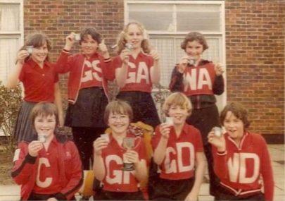 1980s Northwick Park School Netball Team