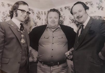Sir Harry Secombe at Kings