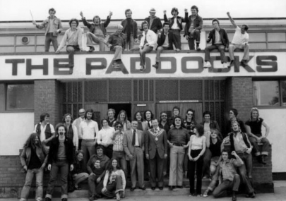 At the Paddocks in the 70s