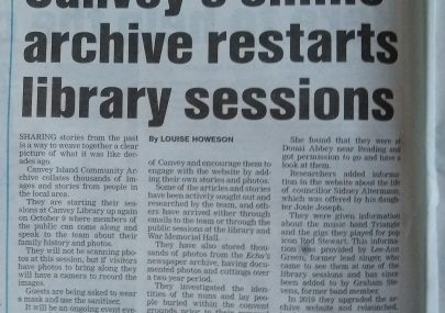 In the Echo today