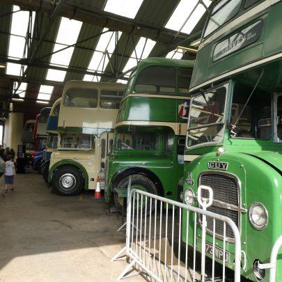 Transport Museum's 'Open House'   © Janet Penn