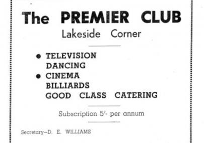 Premier Club 1939