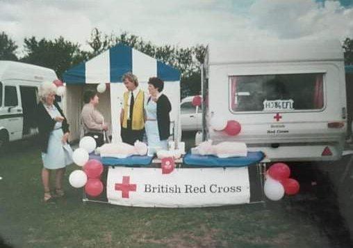 Red Cross 1998   Kathleen Leech