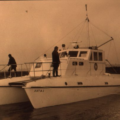45ft Workboat for the U.N.in Nigeria. | Ian