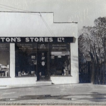 Hooton's Stores and surrounding area