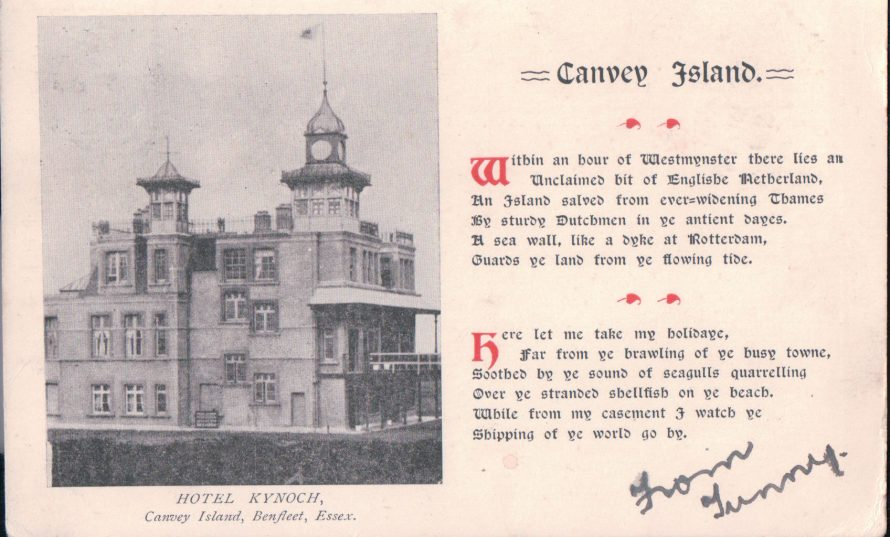 The Hotel Kynoch | Published by kind permission of the late Mr H.A. Osborne and Mr R.W Osborne.