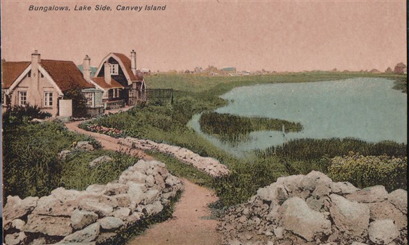 Captain Gregson's Bungalow, Lakeside | Published by kind permission of the late Mr H.A. Osborne and Mr R.W Osborne.