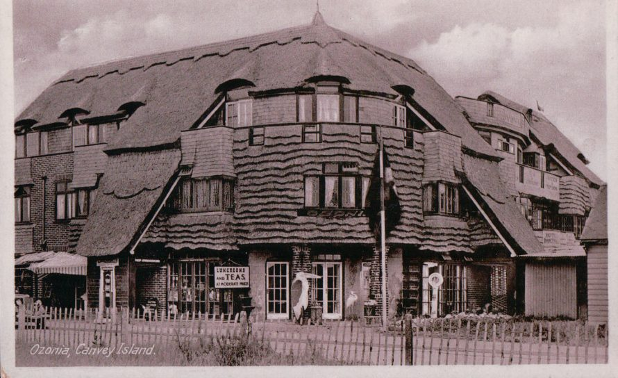 Ozonia Hotel | Published by kind permission of the late Mr H.A. Osborne and Mr R.W Osborne.