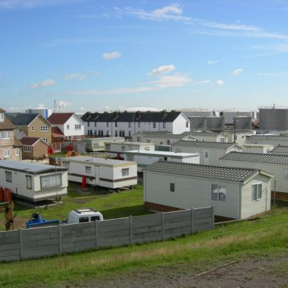 Coastguard Cottages showing some of the new developement | Janet Penn