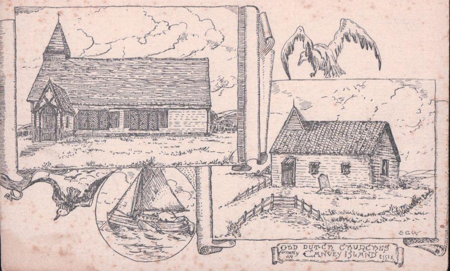 Old Dutch Churches   Published by kind permission of the late Mr H.A. Osborne and Mr R.W Osborne.