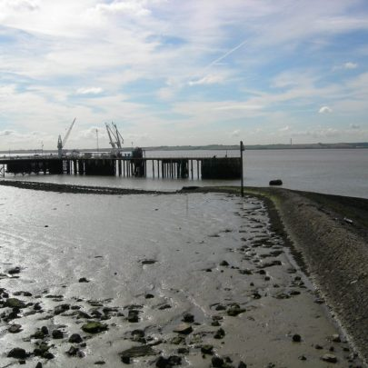 The jetty at the Gas terminal Haven Road | Janet Penn