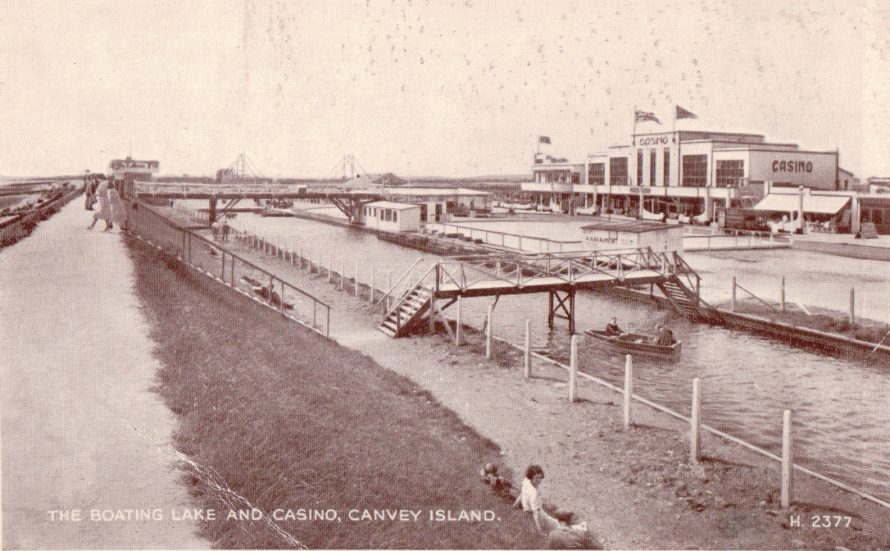 Casino Boating Lake | Published by kind permission of the late Mr H.A. Osborne and Mr R.W Osborne.