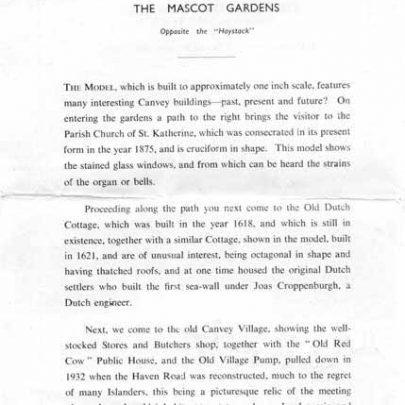 Village Leaflet | D. Bullock
