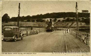 A Bus leaves Canvey via the swing Bridge | David Bullock