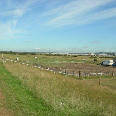 Round about where Sluice Farm used to be | Janet Penn