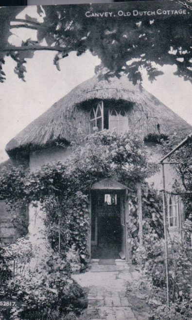 Old Dutch Cottage | Published by kind permission of the late Mr H.A. Osborne and Mr R.W Osborne.